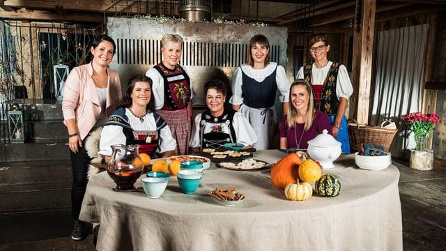 Video ««SRF bi de Lüt – Landfrauenküche»: Das grosse Finale 2018» abspielen