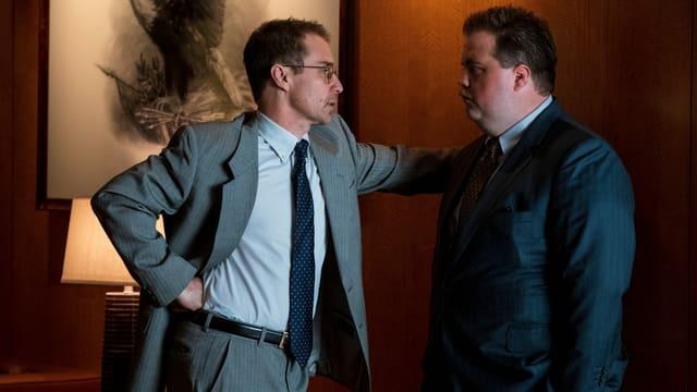 Die beiden Hauptdarsteller von «Richard Jewell» im Gespräch: Sam Rockwell und Paul Walter Hauser.
