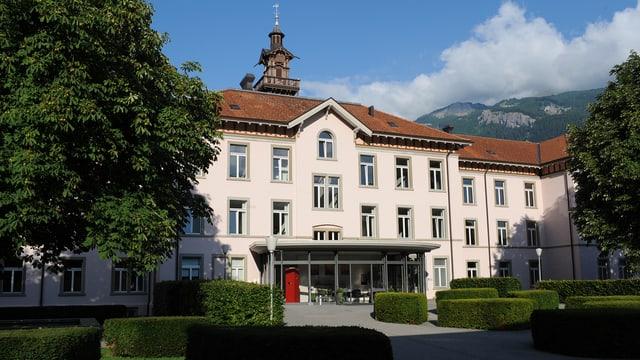 La clinica Waldhaus a Cuira.
