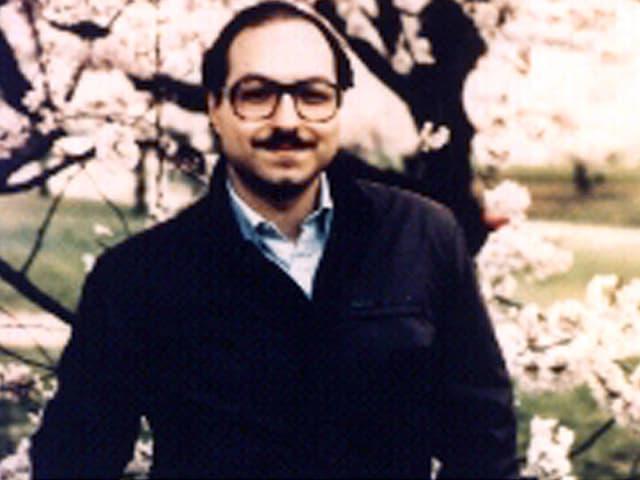 Jonathan Pollard, hier auf einem undatierten Bild vor seiner Festnahme