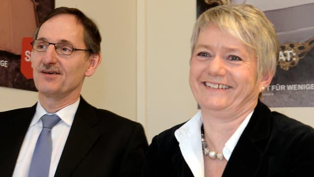 Mario Fehr (SP) und Jacqueline Fehr (SP)