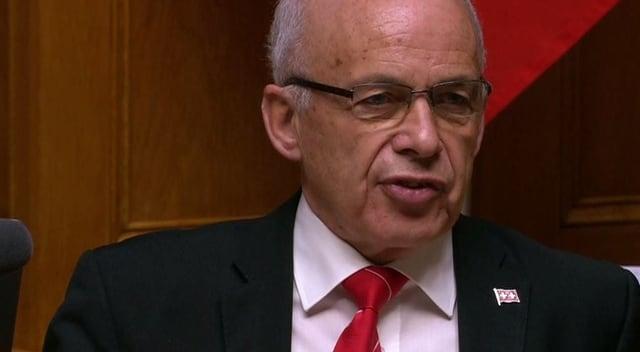 Bundespräsident Ueli Maurer.