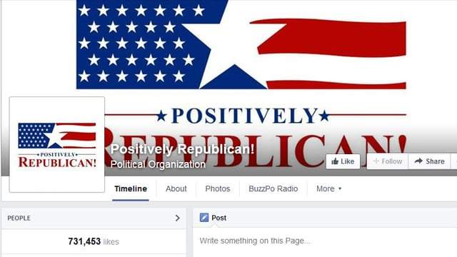 Facebook-Seite «Positively Republican!»