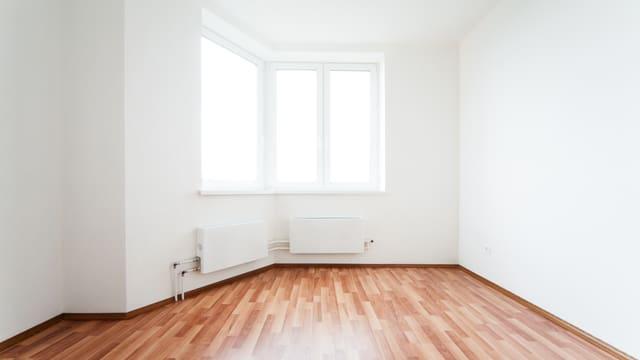 Zimmer ohne Möbel