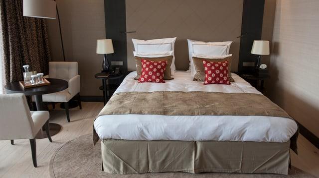 Delux-Suite eines Luxus-Hotels.