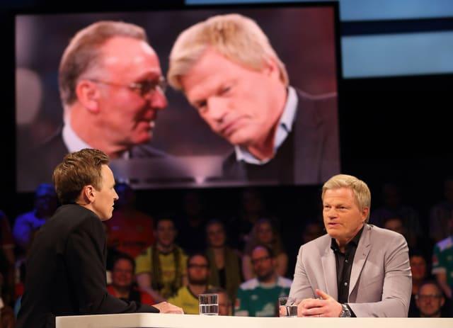 ZDF-Experte Oliver Kahn im TV-Studio