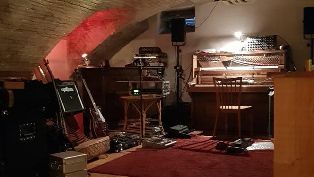 Ein Kellergewölbe ist die Heimat von Mario Batkovics Musik