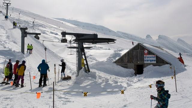 Skilift im Toggenburg