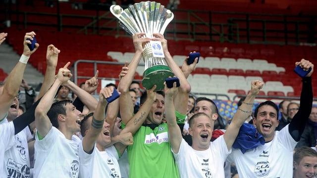Erstligist Pasching gewann in Österreich sensationell den Cup.