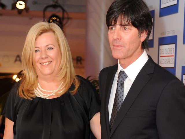 Joachim und Daniela Löw.