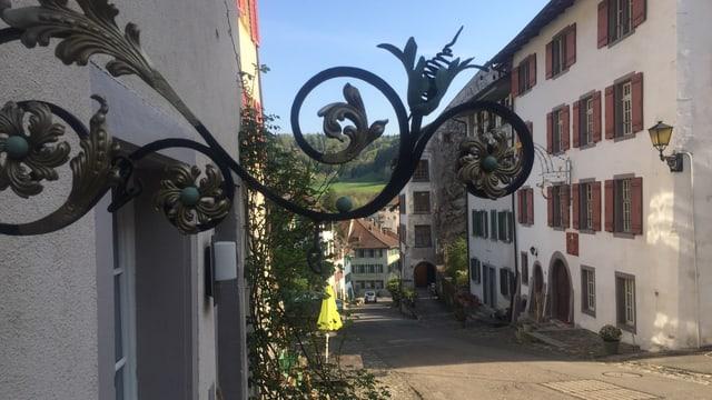 Alte Häuser in Kaiserstuhl