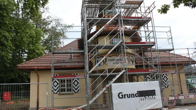 Schützenhaus Aarau im Umbau