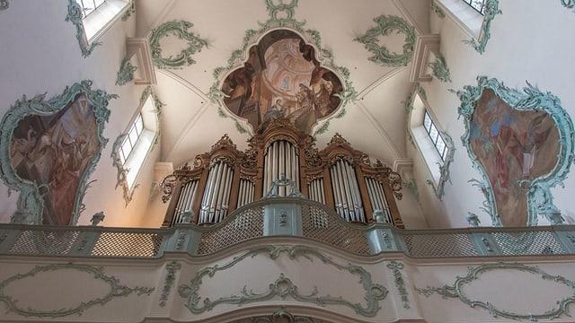 Hauptorgel in der Kirche St. Martin
