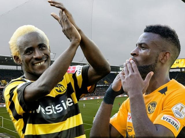 Seydou Doumbia und Jean-Pierre Nsame.