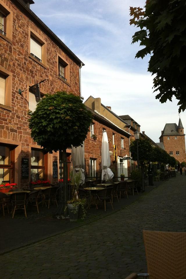 Café in Nideggen