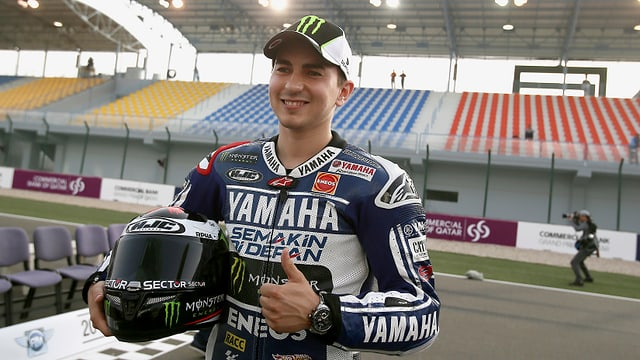 Der Spanier Jorge Lorenzo (Yamaha) ist als amtierender Weltmeister erneut einer der Topfavoriten.