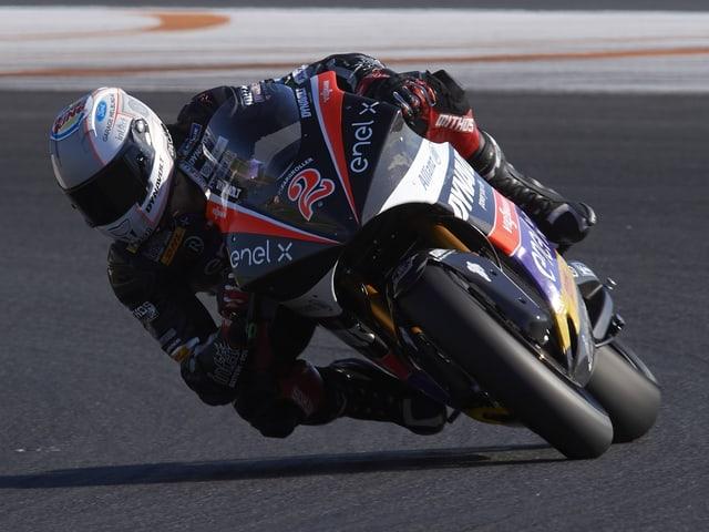 Jesko Raffin wird seine MotoE-Maschine am Sonntag erstmals in einem Rennen testen können.