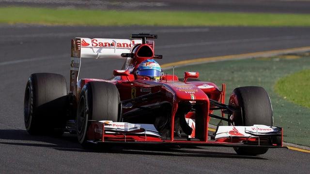 Fernando Alonso bei den freien Trainings in Melbourne
