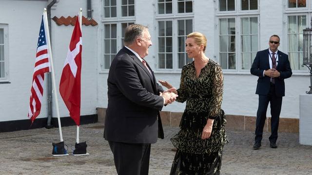 Frederiksen und Pompeo.