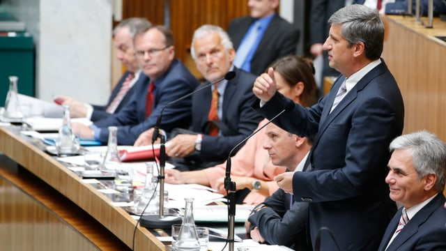 Der österreichische Finanzminister Michael Spindelegger.