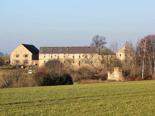 Der Hof Liebon im deutschen Landkreis Bautzen.