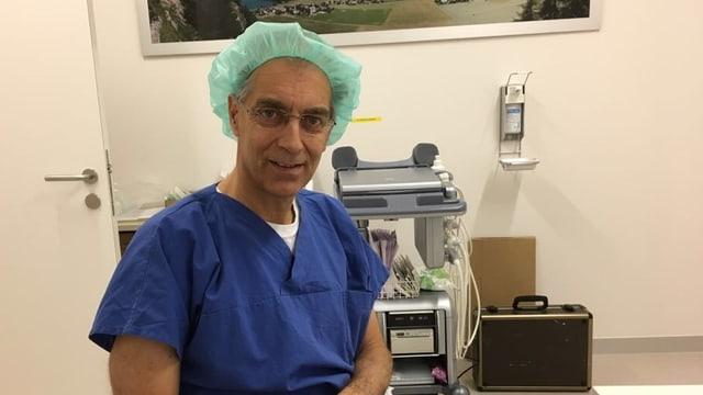 Floris Tichler, anestesist da l'Ollanda.