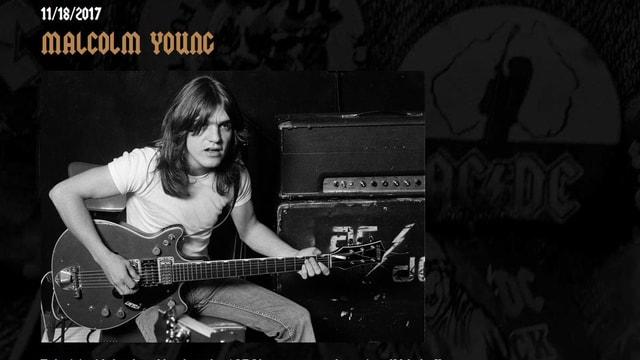 L'annunzia da mort sin la pagina dad AC/DC en la rait.