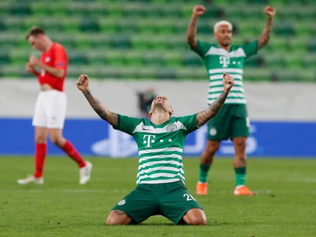 Für Ferencvaros Budapest ertönt nach 25 Jahren Pause wieder die Champions-League-Hymne.