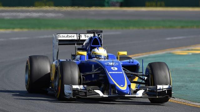 Marcus Ericsson en Sauber