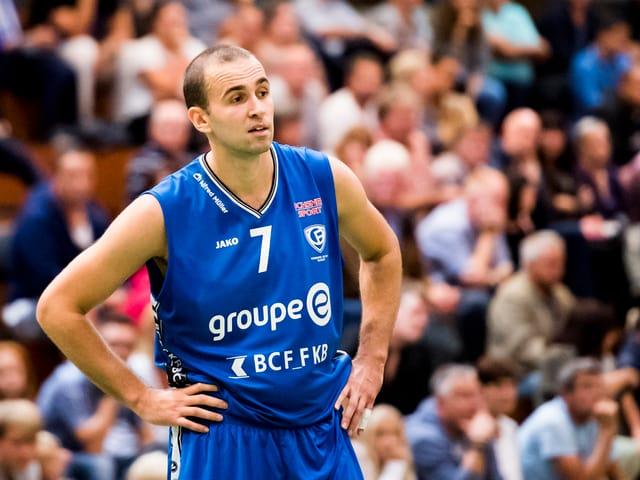 Basketballer Dusan Mladjan
