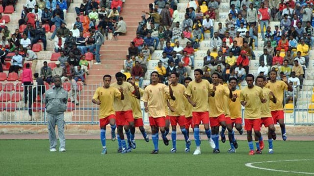 Eritreische Nationalmannschaft (Archivbild)