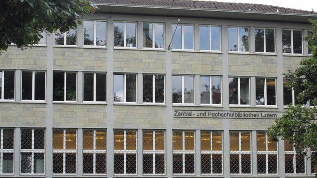 Die Zentral- und Hochschulbibliothek in Luzern.