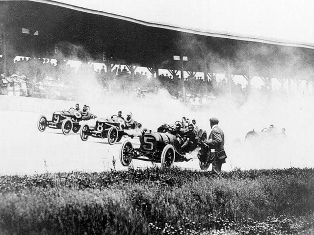 Bild von der Premiere des «Indy 500».