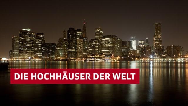 Sendelogo der «10vor10»-Serie zu Hochhäusern