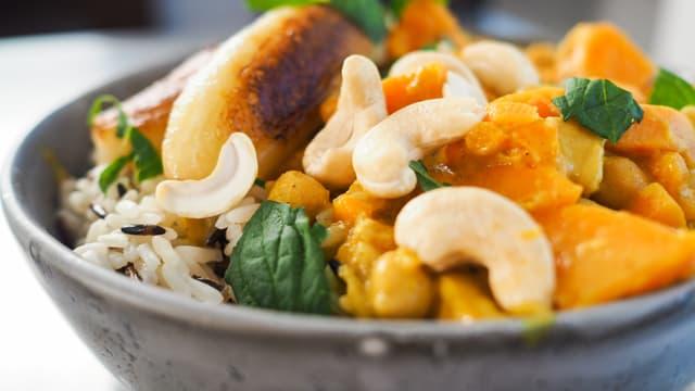 Patats dultschs cun curry