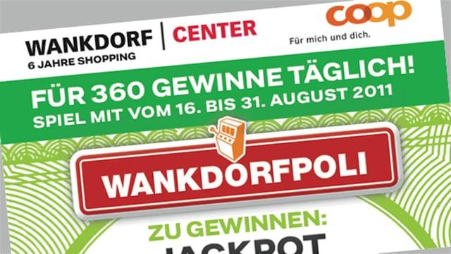 Gewinnspiel Wankdorfpoli