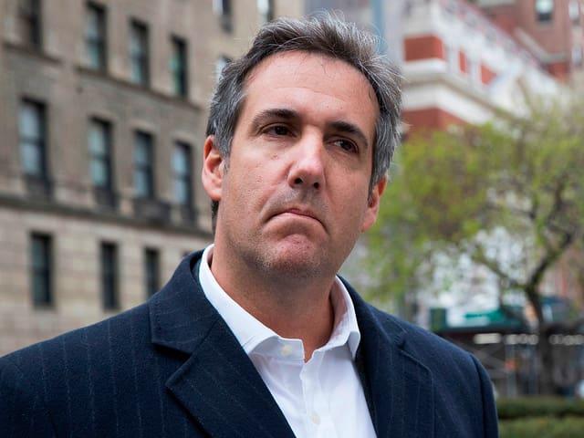 Trump-Anwalt Michael Cohen.