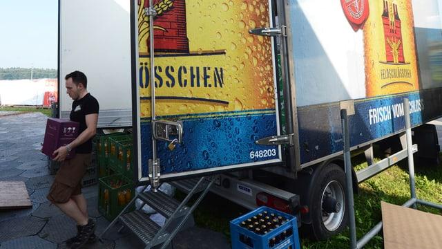 Kühlwagen von Feldschlösschen