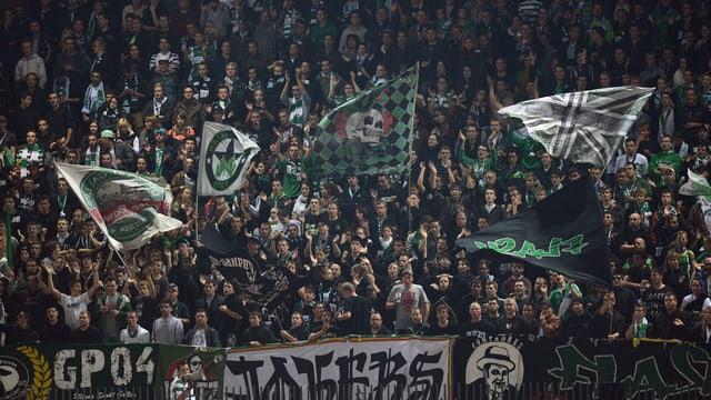 Über 14'000 Zuschauer besuchen im Durchschnitt die Heimspiele des FC St. Gallen.
