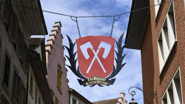 Wappen der Stadt Biel.