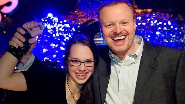 Der Sieg bei Raabs Gesangswettbewerb gibt der jungen Walliserin einen Karriereschub...