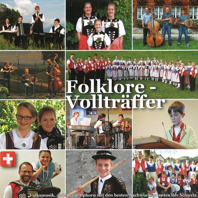 CD-Cover mit elf Bildern, die die Siegerformationen zeigen.