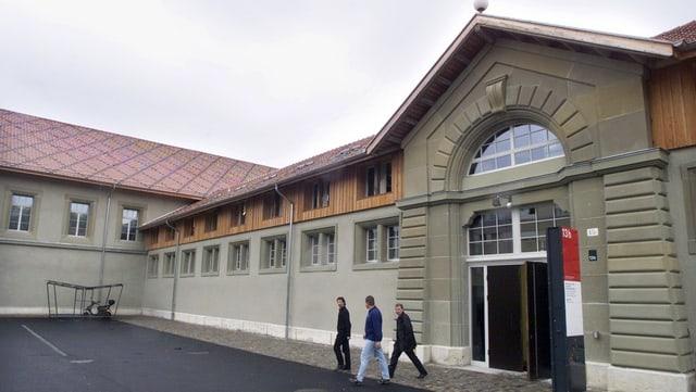 Das Gebäude der Hochschule für Künste.