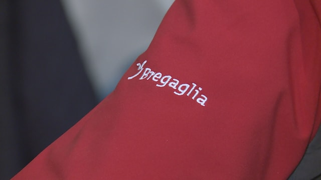 Il logo dal turissem Bregaglia