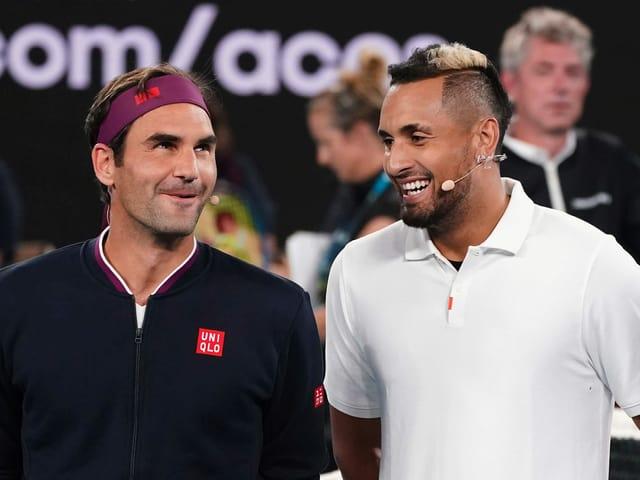 Das sagte Roger Federer nach seinem 8:6-Tiebreak-Sieg gegen Nick Kyrgios.