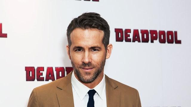 Porträt Ryan Reynolds.