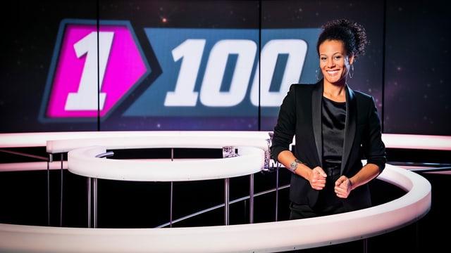 Angélique Beldner, Moderatorin «1 gegen 100»
