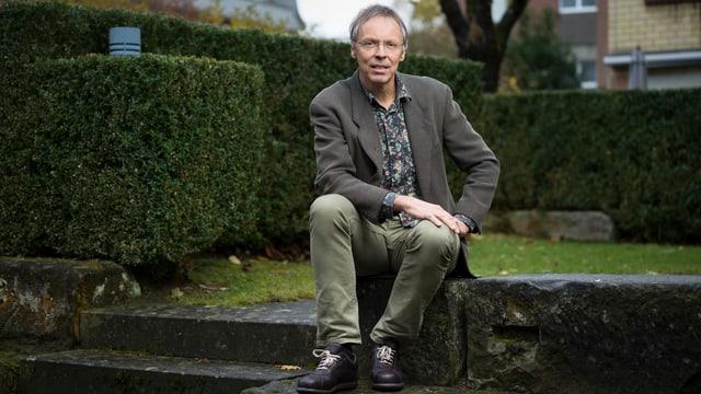 Der Geschäftsführer der Stiftung Landschaftsschutz Schweiz, Raimund Rodewald.