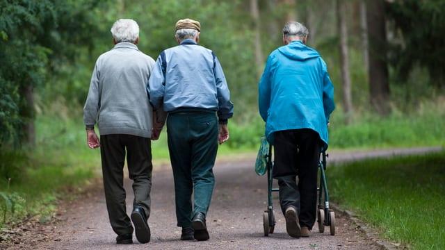 Ältere Menschen in Zug erhalten keine neue Anlaufstelle, welche Dienstleistungen koordiniert.