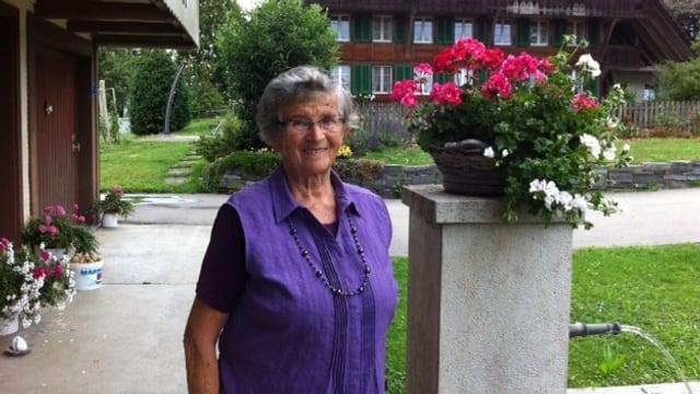 Frieda Habegger.